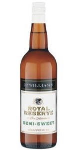 McWilliam's Royal Reserve Semi Sweet NV