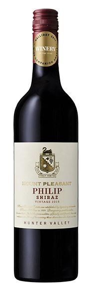 Mount Pleasant Family Collection Philip Shiraz 2015 (6 x 750mL) Hunter