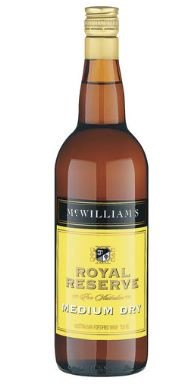 McWilliam's Royal Reserve Medium Dry Apera NV (12 x 750mL), SE AUS.