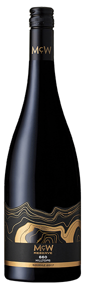 McWilliam's 660 Hilltops Shiraz 2017 (6 x 750mL), NSW.