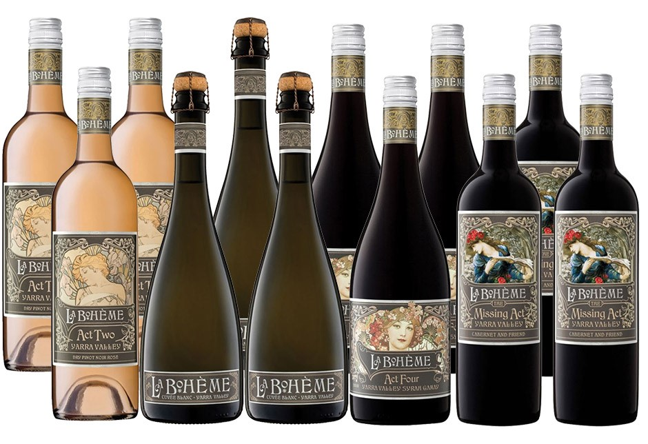 Share with friends! De Bortoli La Boheme Mixed Selection (12 x 750ml)