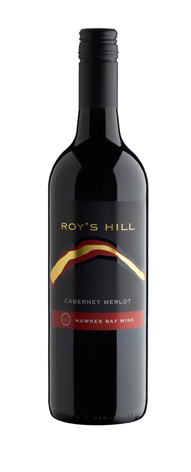 Roy's Hill Hawke's Bay Cabernet Merlot 2015 (12 x 750mL) Hawke's Bay, NZ