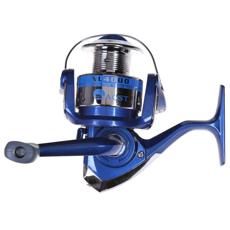 Fishing Reel 5BB Gear Ratio 5.1:1 Line Capacity 0.30/130, 0.40/120, 045/110