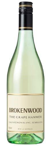 Brokenwood 'The Grape Hammer' Sauvignon Blanc Semillon 2018 (12x 750mL) NSW