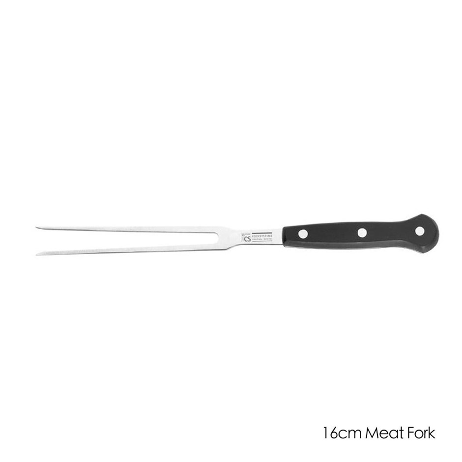 Premium Kitchen Chef Knives Stainless Steel Blade 16cm Meat Fork Knife