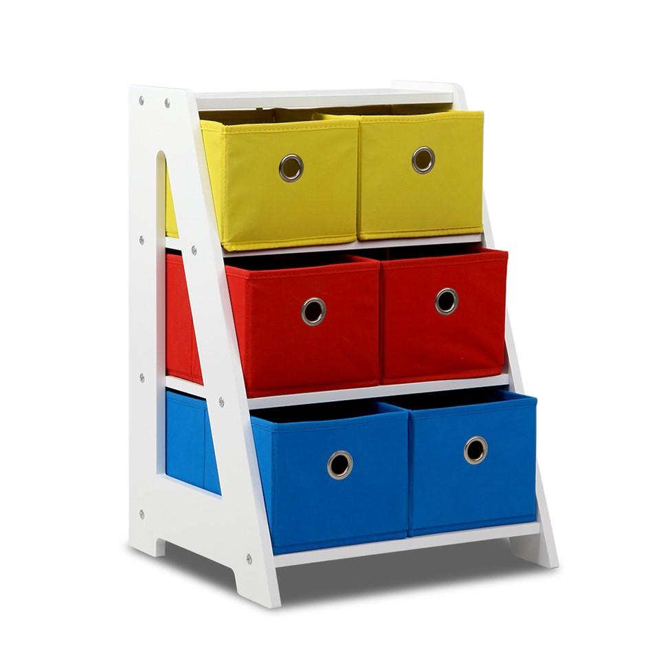 Artiss Fabric Multi-bin Toy Box