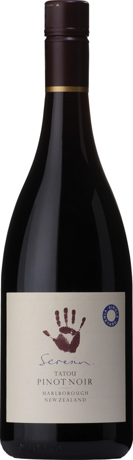 Seresin Estate `Tatou` Pinot Noir 2012 (6 x 750mL), Marlborough, NZ.