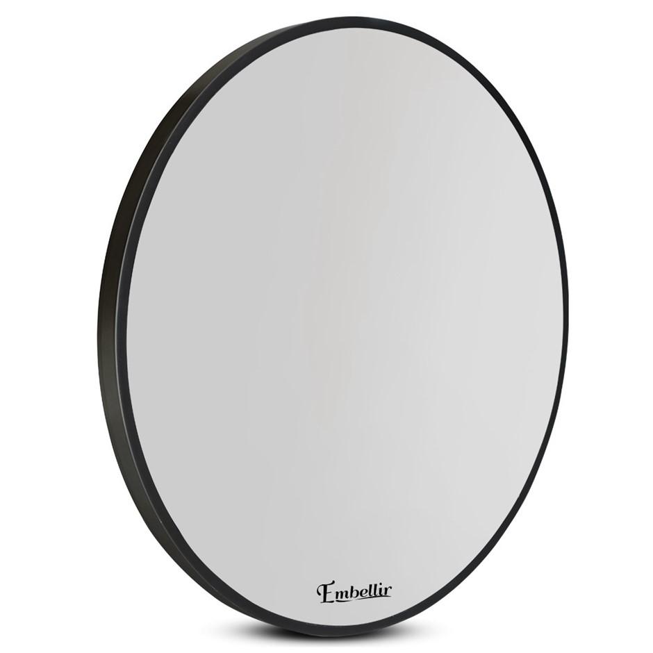 Embellir 80cm Frameless Round Wall Mirror