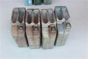 4 x Steel Jerry Cans