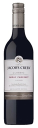 Jacob's Creek `Classic ` Shiraz Cabernet 2017 (12 x 750mL), SE AUS.