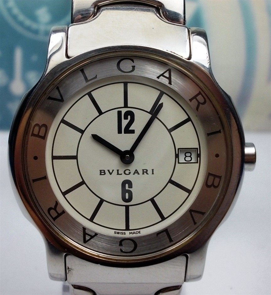 Ladies Analogue Bvlgari Solotempo Solotempo watch.