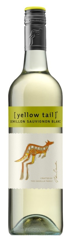 Yellowtail Semillon Sauvignon Blanc (12 x 750mL), SE, AUS.