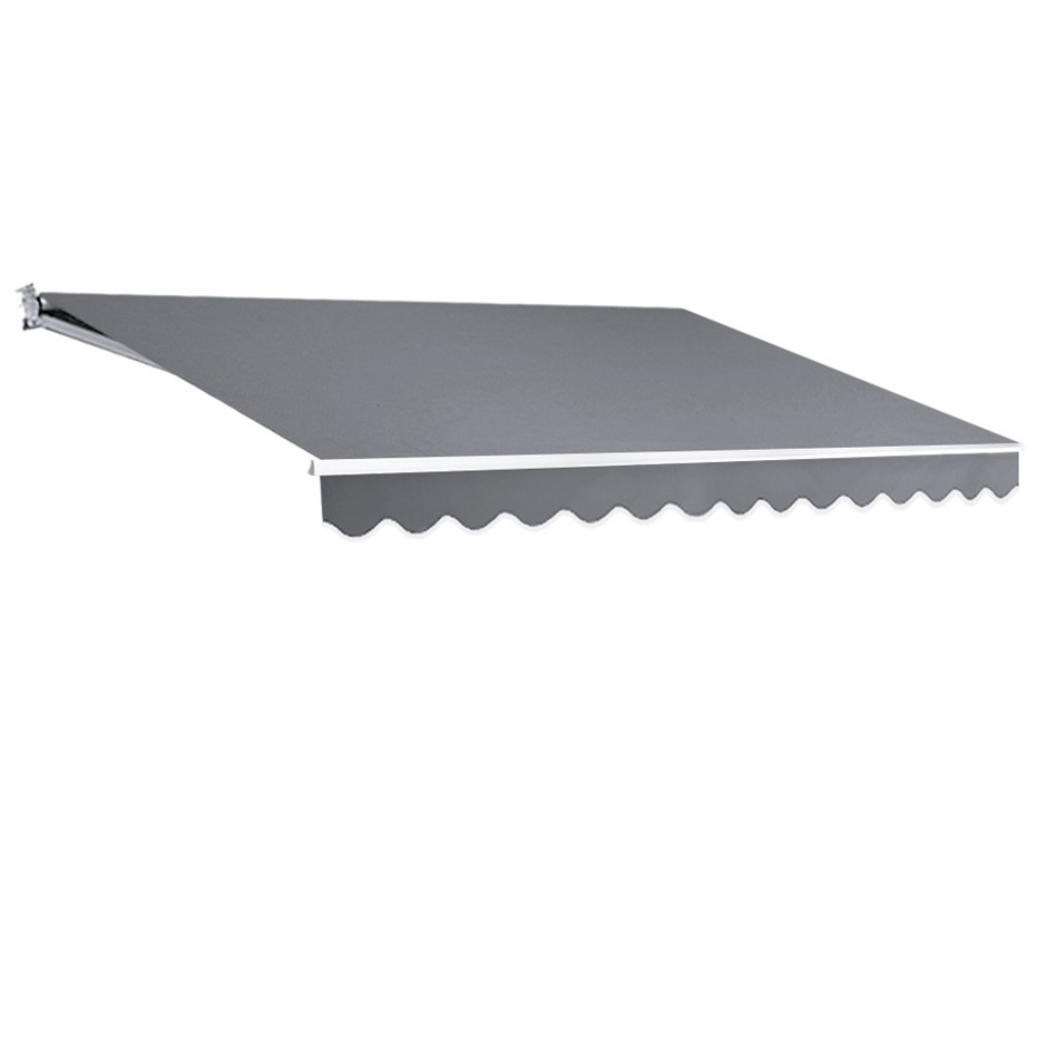 Instahut 4M x 3M Outdoor Folding Arm Awning - Pegru