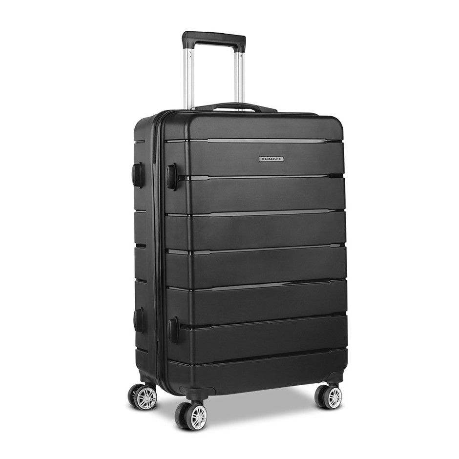 Wanderlite 28 Suitcase - Black