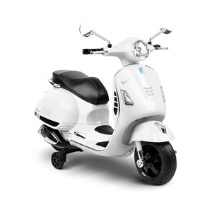 Rigo Kids Ride On Vespa - White