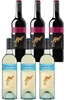 Yellowtail Sauvignon Blanc & Pinot Noir Mixed Pack (6 x 750mL), SE AUS.