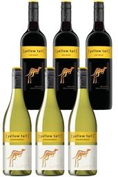 Yellowtail Chardonnay & Shiraz Mixed Pack (6 x 750mL),SE AUS.