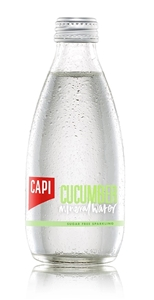 Capi Cucumber Sparkling Mineral Water (2