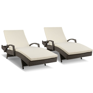 Gardeon Outdoor Sun Lounge Chair with Cu