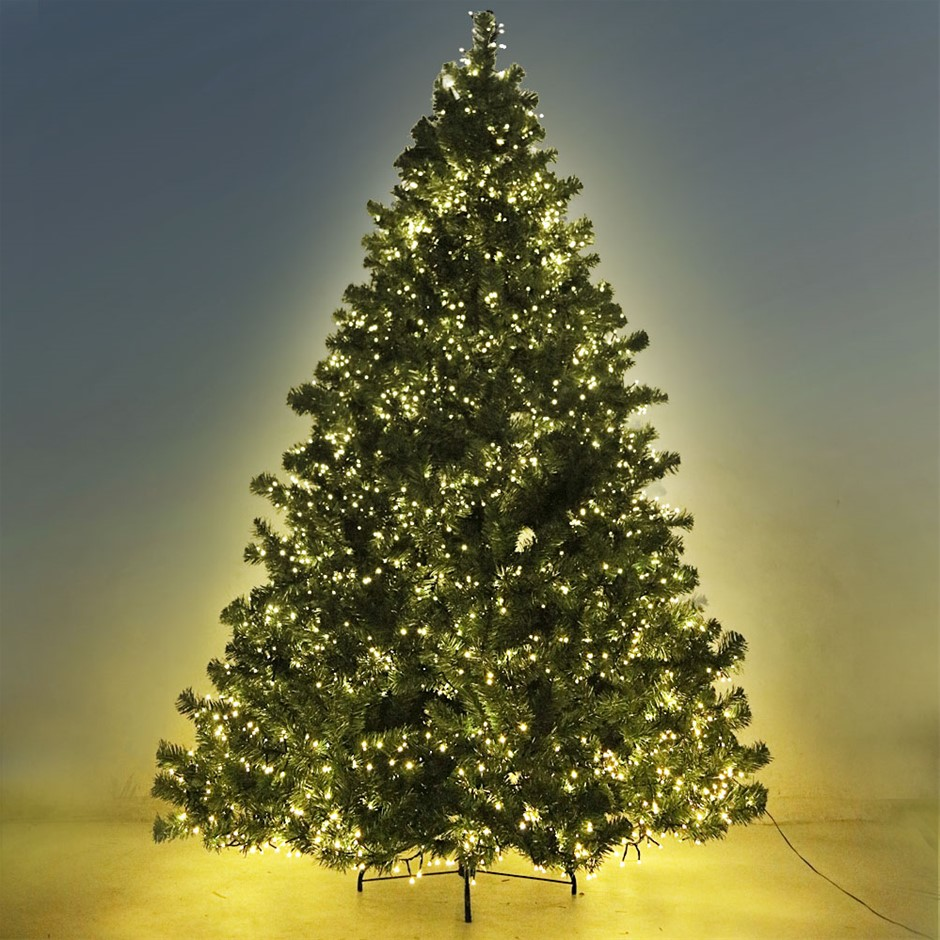 Jingle Jollys 7FT Christmas Tree with LED Lights - Warm White