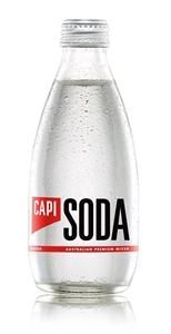 Capi Soda Water (24 x 250mL).