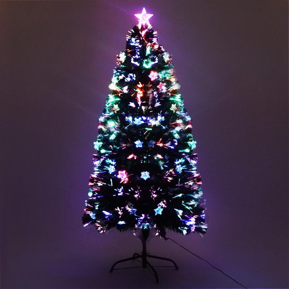 Jingle Jollys 5FT LED Christmas Tree - Multi Colour
