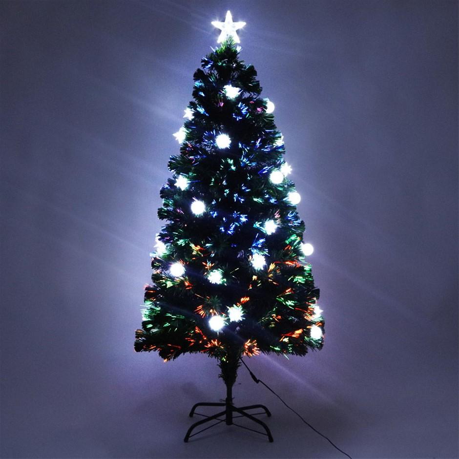 Jingle Jollys 5FT LED Ball Christmas Tree - Multi Colour