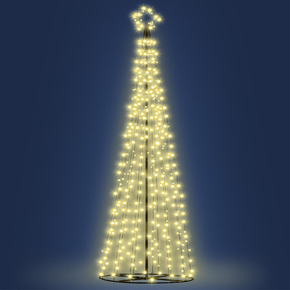 Jingle Jollys LED 12FT Christmas Tree - Warm White