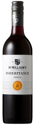 McWilliam's `Inheritance` Shiraz 2018 (12 x 750mL), SE AUS.