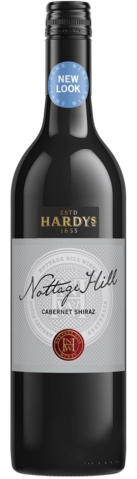 Hardys `Nottage Hill` Cabernet Shiraz 2017 (6 x 750mL), SE AUS.