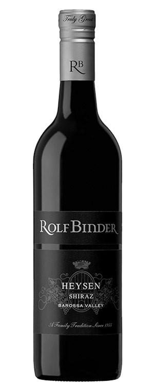 Rolf Binder Heysen Shiraz 2015 (12 x 750mL), Barossa, SA.