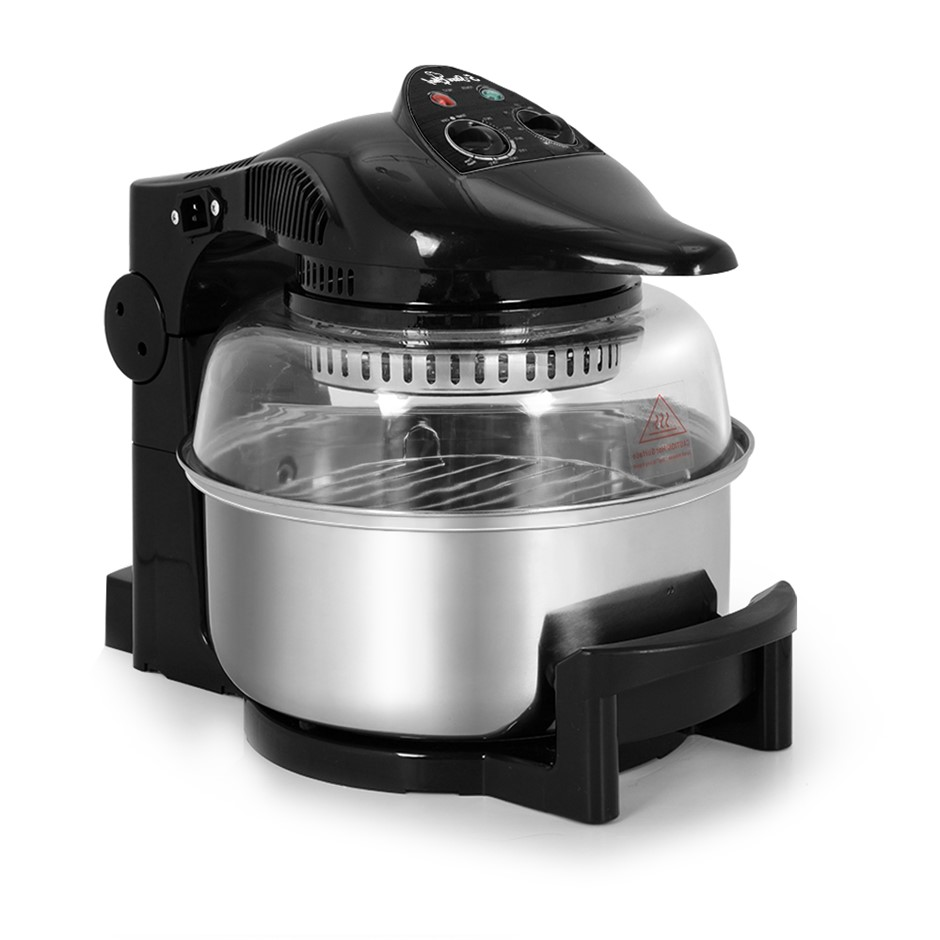 5 Star Chef 12L Air Fryer - Black