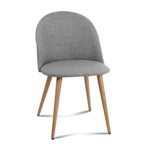 Artiss Modern Dining Chair - Light Grey