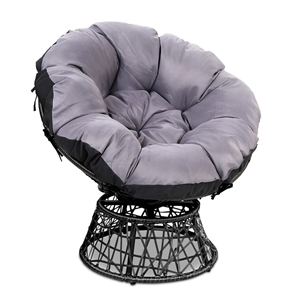 Gardeon Papasan Chair - Black