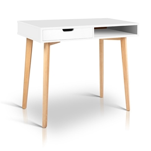 Artiss Wood Computer Desk with Drawers -