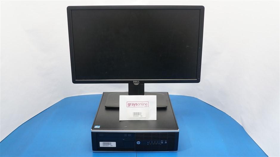 HP Compaq Elite 8300 SFF Desktop PC With 24-Inch Dell