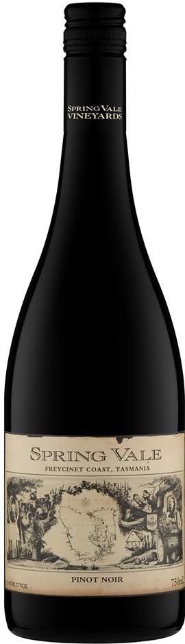 Spring Vale `Melrose` Pinot Noir 2018 (12 x 750mL), TAS.