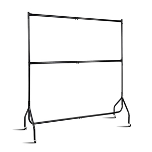 6FT Double Metal Garment Display Rail -
