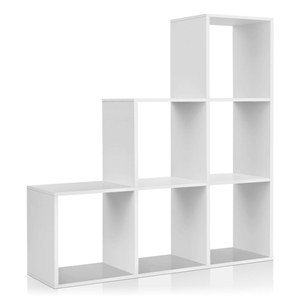 Artiss 6 Cube Staircase Display Shelf -