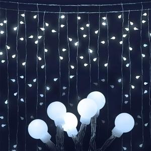 Jingle Jollys 600 LED Curtain Lights - C
