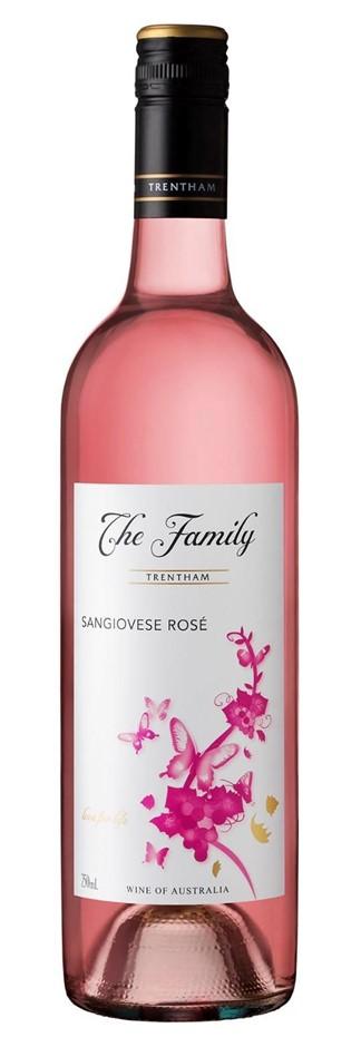 Trentham Estate `The Family` Sangiovese Rose 2018 (12 x 750mL), NSW.