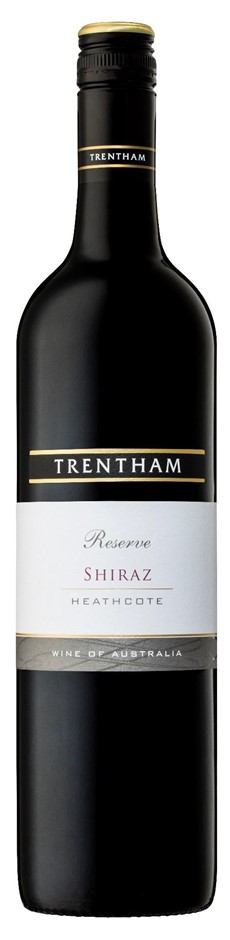 Trentham Estate `Reserve` Heathcote Shiraz 2015 (6 x 750mL), VIC.