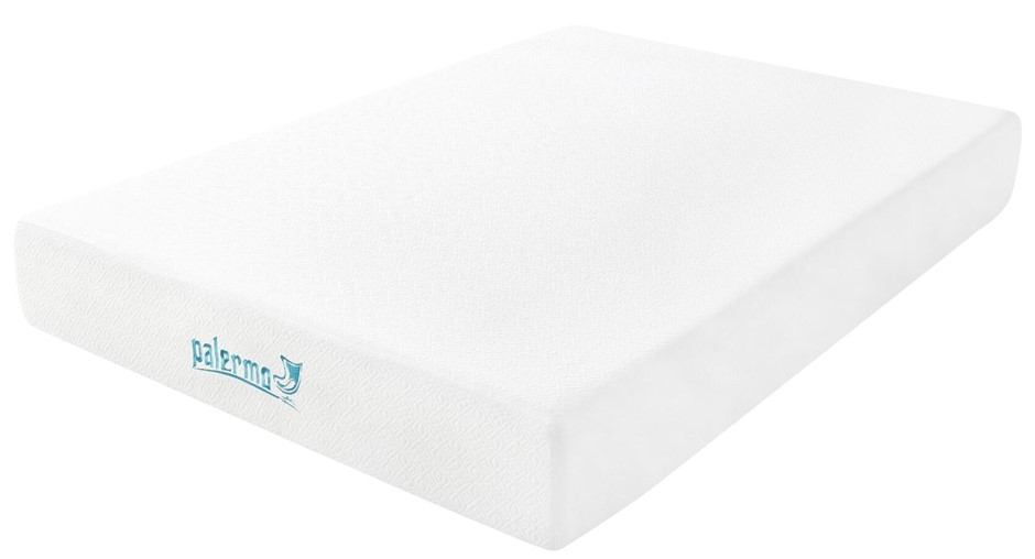 Palermo Double 25cm Gel Memory Foam Mattress - Dual-Layered