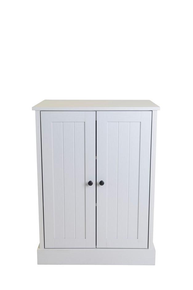 Hamptons 2 Door Low Line Multipurpose Cupboard
