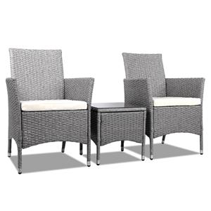 Gardeon Bistro Chair - Grey