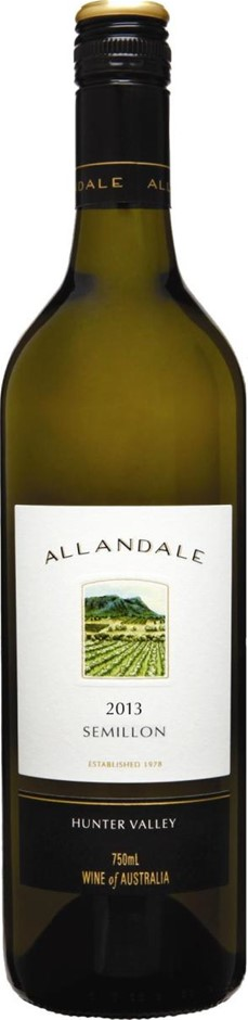 Allandale Aged Semillon 2013 (12 x 750mL), Hunter Valley, NSW.