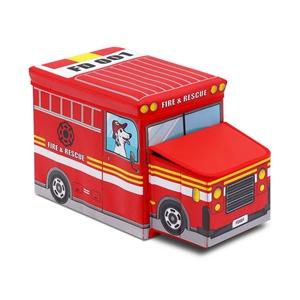 Kids Toy Storage Box - Red