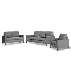 Excellent Artiss 3 Piece Sofa Set Unemploymentrelief Wooden Chair Designs For Living Room Unemploymentrelieforg