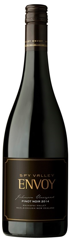 Spy Valley `Envoy` Pinot Noir 2014 (6 x 750mL), Marlborough, NZ.
