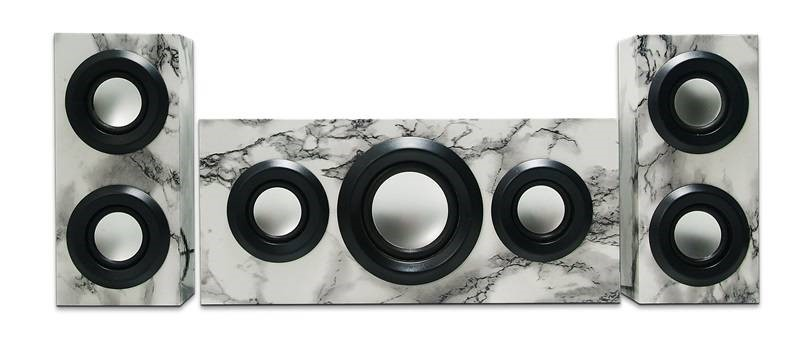 RSON Wireless Bluetooth 3-Piece Sound System (Marble)